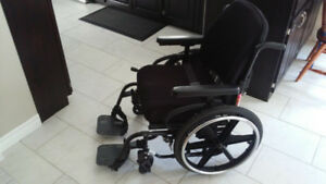 Quickie 2 Deluxe folding wheelchair