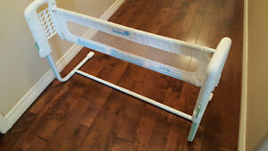 child bed railing and baby gate $25 each