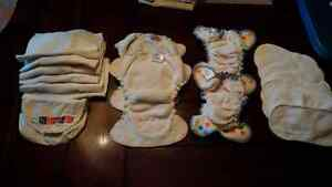 Cloth diaper lot- used REDUCED PRICE Kitchener / Waterloo Kitchener Area image 1