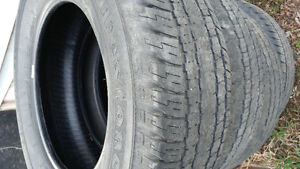 4 used 265.   65. 18 tires