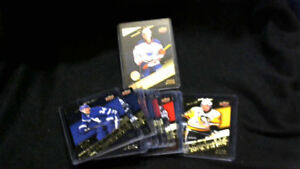 TRADE LAST YEARS COMPLETE GOLD SET FOR LEFT OVER /  3D CARD