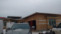 Rooftop snow removal, Roof repairs, Roof Replacements