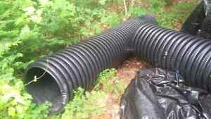 Brand new culverts never used