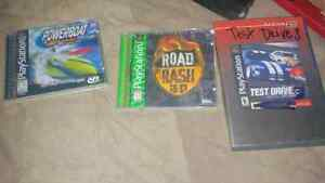 Ps one games like new