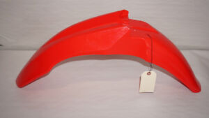 Honda CRF Red Dirt Bike Front Fender