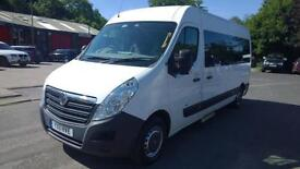 Vauxhall Movano F3500 L3h2 CDTi Welfare Bus DIESEL MANUAL 2011/11