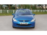 2003 Peugeot 307 1.4 HDi S 5dr (a/c)