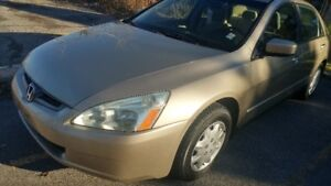 2003 Honda Accord Full Options + Winter Tires + Remote Starter