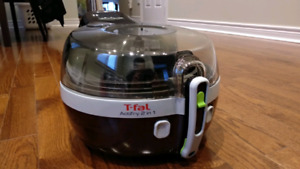 T-FAL Actifry 2-in-1 Deep Fryer - 1.5 kg - Black