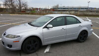 Mazda 6 2007 Sport Sedan (2.3L 4 cyl) - Great condition