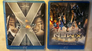 !XMEN (Days of future past/Frst class)on blueray!