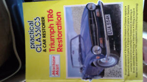 Many motorcycle and car repair manuals some new