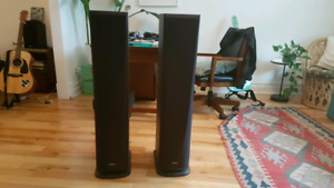 Stand up speakers for home theater/sound system
