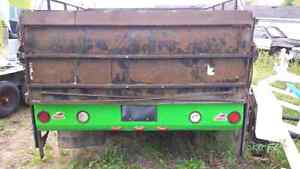 Very well built flat bed for a 1 ton truck London Ontario image 6