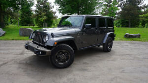 2016 Jeep Wrangler Unlimited 6 Speed