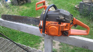 """husqvarna 50 chainsaw 18"""" bar lost spark no time to fix"""