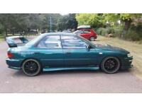98S SUBARU IMPREZA 2.0 TURBO 2000 UK PRODRIVE CAMBELTED FULL LEATHER PX SWAPS