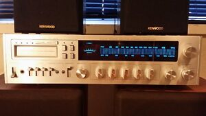 Vintage Sears 8 Track Receiver with Speakers