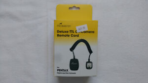 Deluxe TTL Off Camera Remote Cord for Pentax