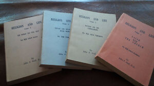 Religion and Life, 4 Volumes, High School Level Kitchener / Waterloo Kitchener Area image 1