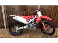 2012 CRF250 with upgrades