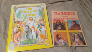 Religious Story & Colouring Book