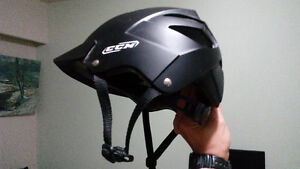 CCM Helmet, Air Pump and Bike Lock - $50