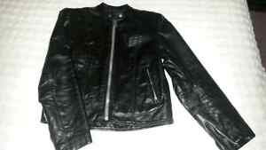 Womens Vintage Bristol Harley Davidson motorcycle jacket. Kawartha Lakes Peterborough Area image 2