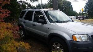 2002 Ford Escape SUV, Crossover