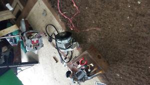Broken electronic tool pipe rod gears motor toolbox saw drills..