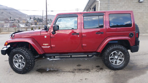 ** PRICE REDUCED **  2012 Jeep Wrangler Sahara Unlimited