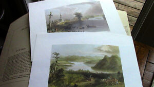 Early Canadian Scenes - W.H. Bartlett, Ready to Frame Kitchener / Waterloo Kitchener Area image 4