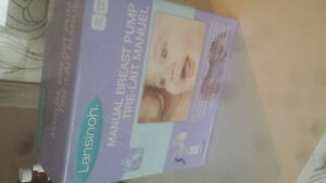 Lansinoh manual breast pump...new and unopened in box