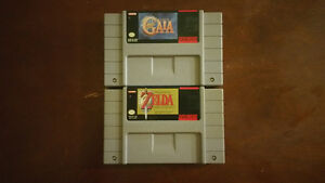 (SNES) LEGEND OF ZELDA: LINK TO THE PAST, ILLUSION OF GAIA