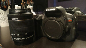 CANON REBEL T5i with Kit Lens 18-55mm