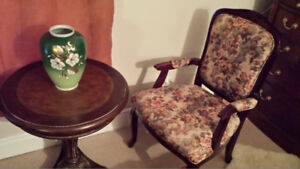 FRENCH CHAIRSThese are two beautiful French arm chairs, . The h