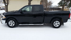 2012 Ram 1500 Quad Cab 4x4 Pickup Truck ONLY 60,600kms