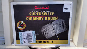Supersweep Chimney Brush 7 x 11 - Premium quality West Island Greater Montréal image 1