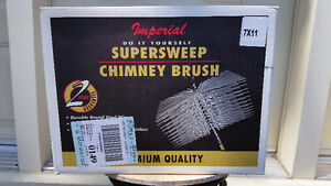 Supersweep Chimney Brush 7 x 11 - Premium quality