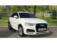2017 Audi Q3 1.4T FSI S Line Edition 5dr S Tronic - Privacy - P Auto Estate Petr