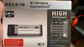 Belkin N1 wireless express card wi fi