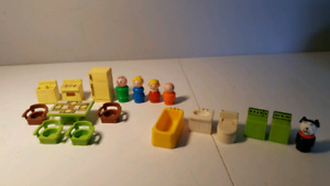 FISHER PRICE 729 kitchen set complet