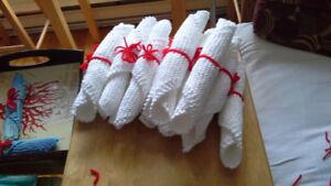 Lingettes tricot 100% coton