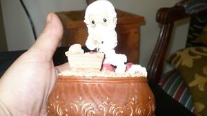 "VINTAGE ADORABLE ""PRECIOUS MOMENTS"" XMAS MUSIC BOX Kitchener / Waterloo Kitchener Area image 8"