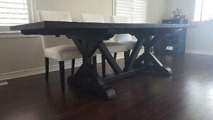 Dining Table Set with 6 Chairs - Restoration Hardware Oakville / Halton Region Toronto (GTA) image 4