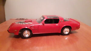 1:18 toy car 1979 Trans am.