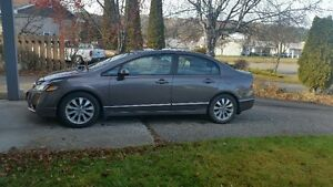 2010 Honda Civic EX-L Sedan with Low KM's