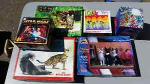 Collection of puzzles $5 for the lot