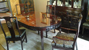 Beautiful Custom, Chinese, Dining Room Suite