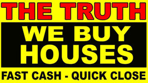 We BUY Houses! Quick, Easy, Fast Cash!